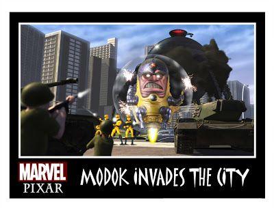 MINION FACTORY: Pixar Invades The Marvel & DC Comics Universe!