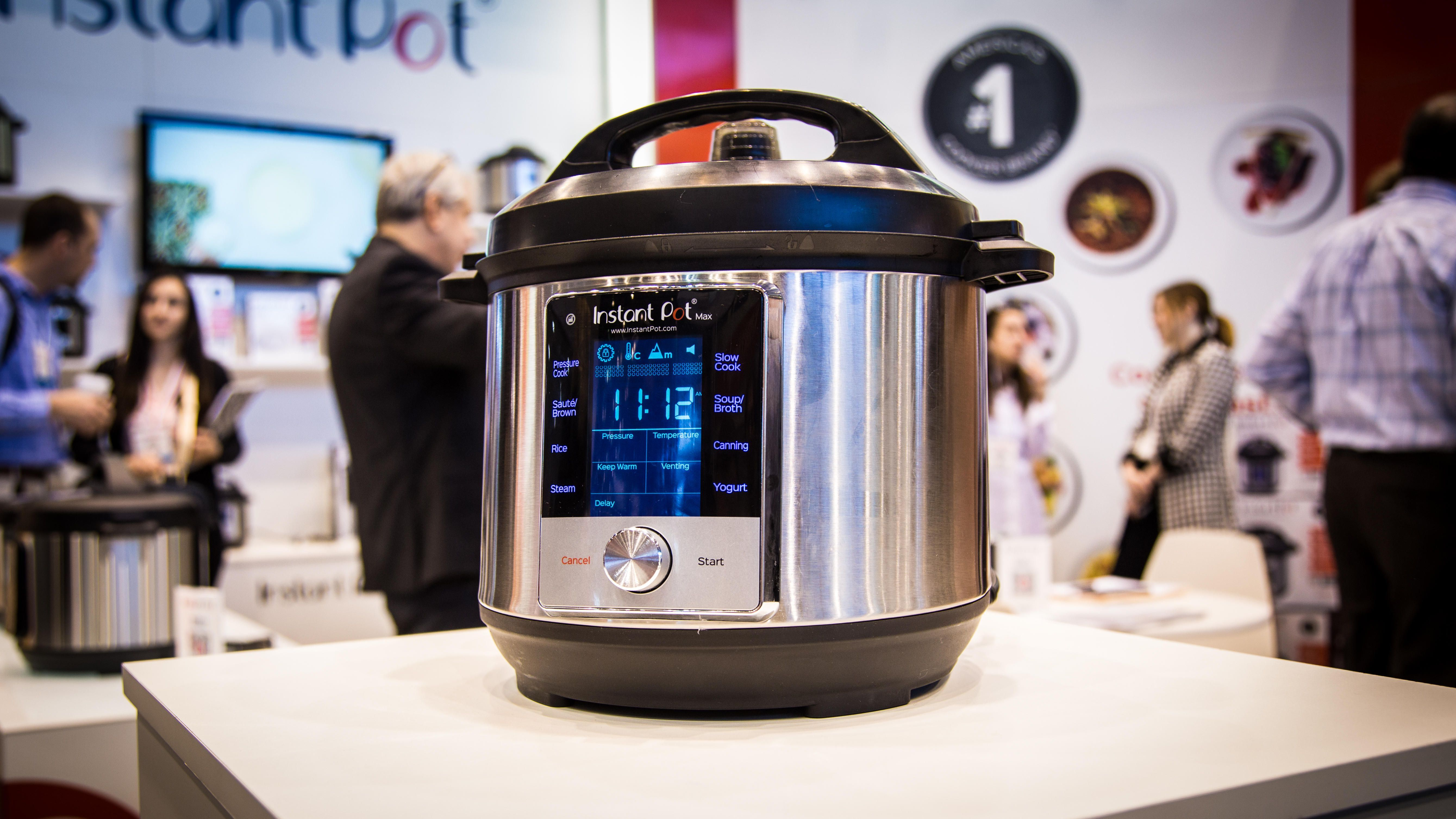 New Instant Pot Max cooks faster, with more features