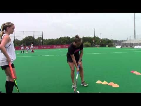 2015 U S Women S National Team Janneke Schopman Jamie Montgomery 3d Skills Exercise Field Hockey Hockey Training Field Hockey Drills