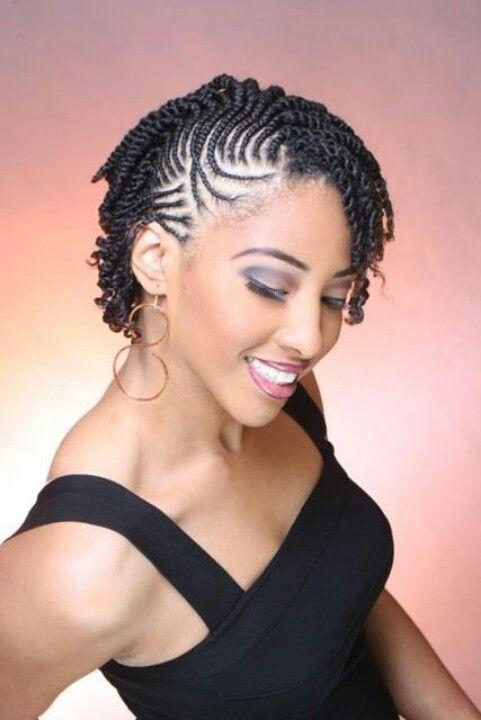 Ultra Cute Cornrows With Twists Natural Hair Twists Hair Twist