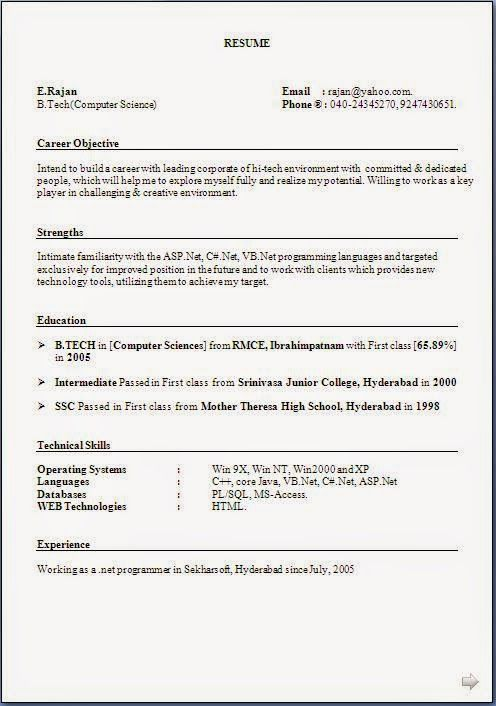 Faire Cv Gratuit Excellent Curriculum Vitae  Resume Format With