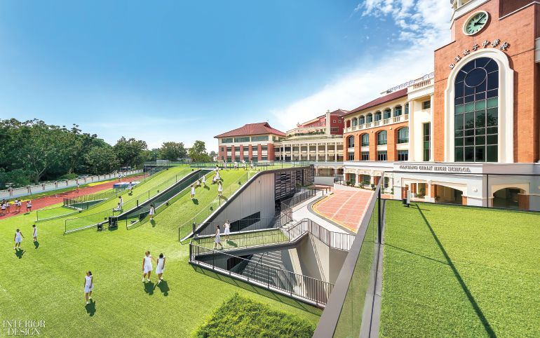 Nanyang Girls High School By Park Associates 2017 Best Of Year Winner For Large Primary Secondary Education With Images Interior Design School Green Park School Architecture