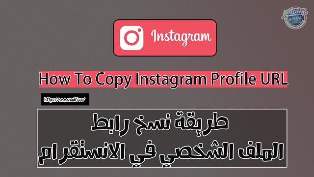 طريقة نسخ رابط الملف الشخصي في الانستقرام كيفية نسخ رابط البروفايل Instagram Profile Instagram Incoming Call Screenshot