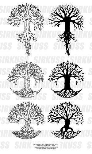 Yggdrasil Tree Tattoo Tree Of Life Tattoo Tree Tattoo Designs
