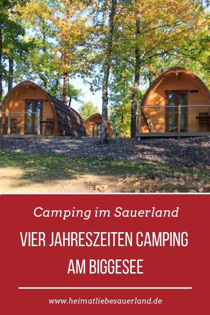 Photo of Du suchst einen schönen #Campingplatz im #Sauerland? Wir stellen dir den Vier J…