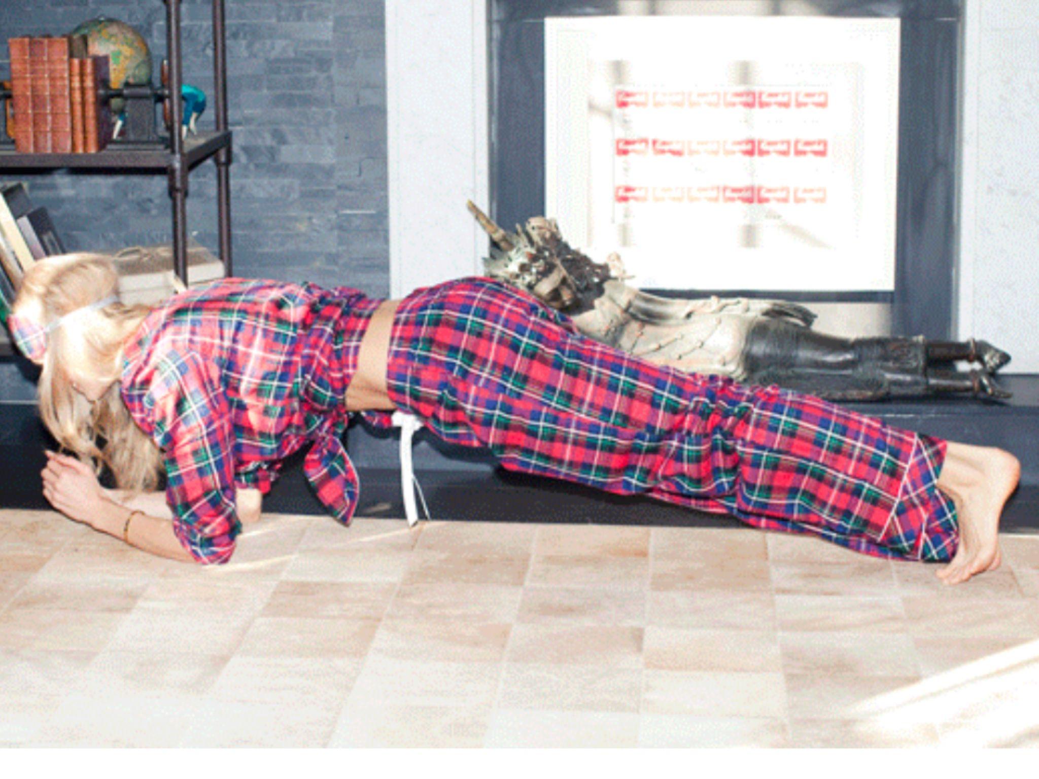 Deporte en pijama pues vale.