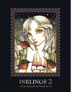 INKLINGS 2 colouring book by Tanya Bond: Coloring book for adults ...