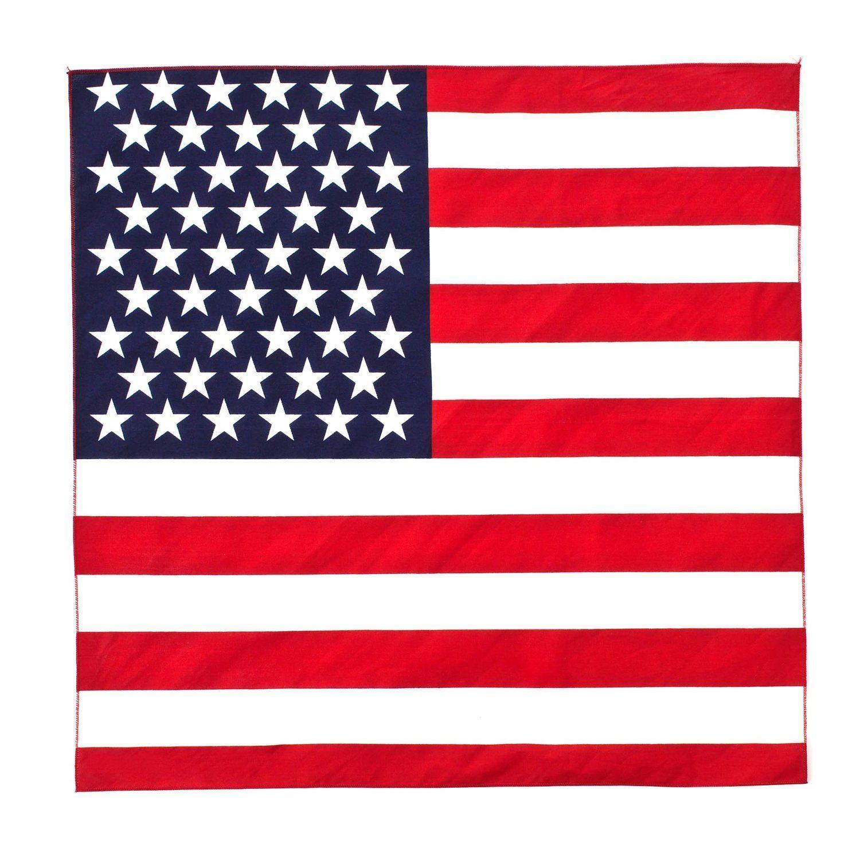 Rothco 4150 Us Flag Bandana Military Cotton Biker Army Headwrap 22 X 22 Flag Bandana American Flag Bandana American Flag Bandana Headband