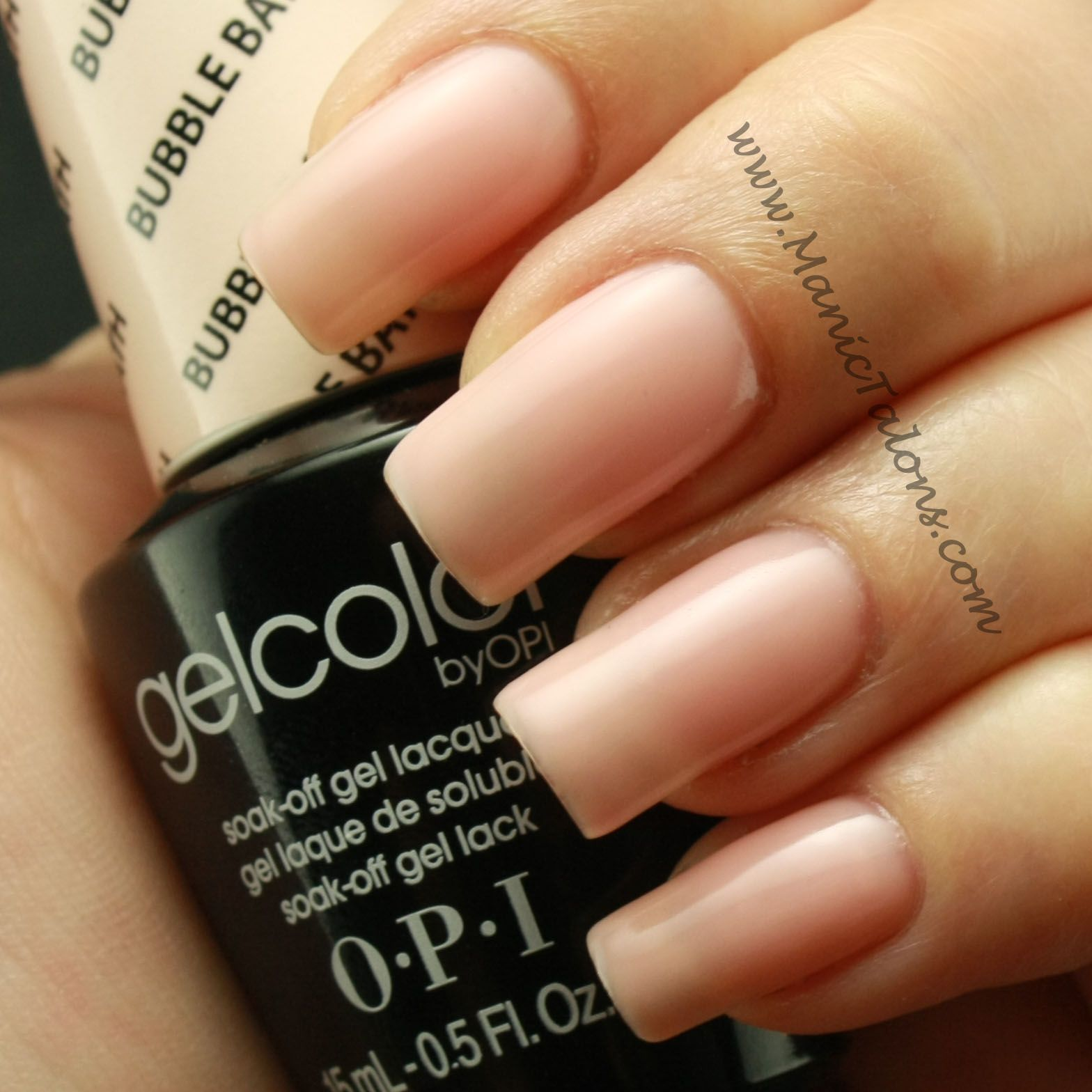 OPI GelColor Bubble Bath | OPI | Pinterest