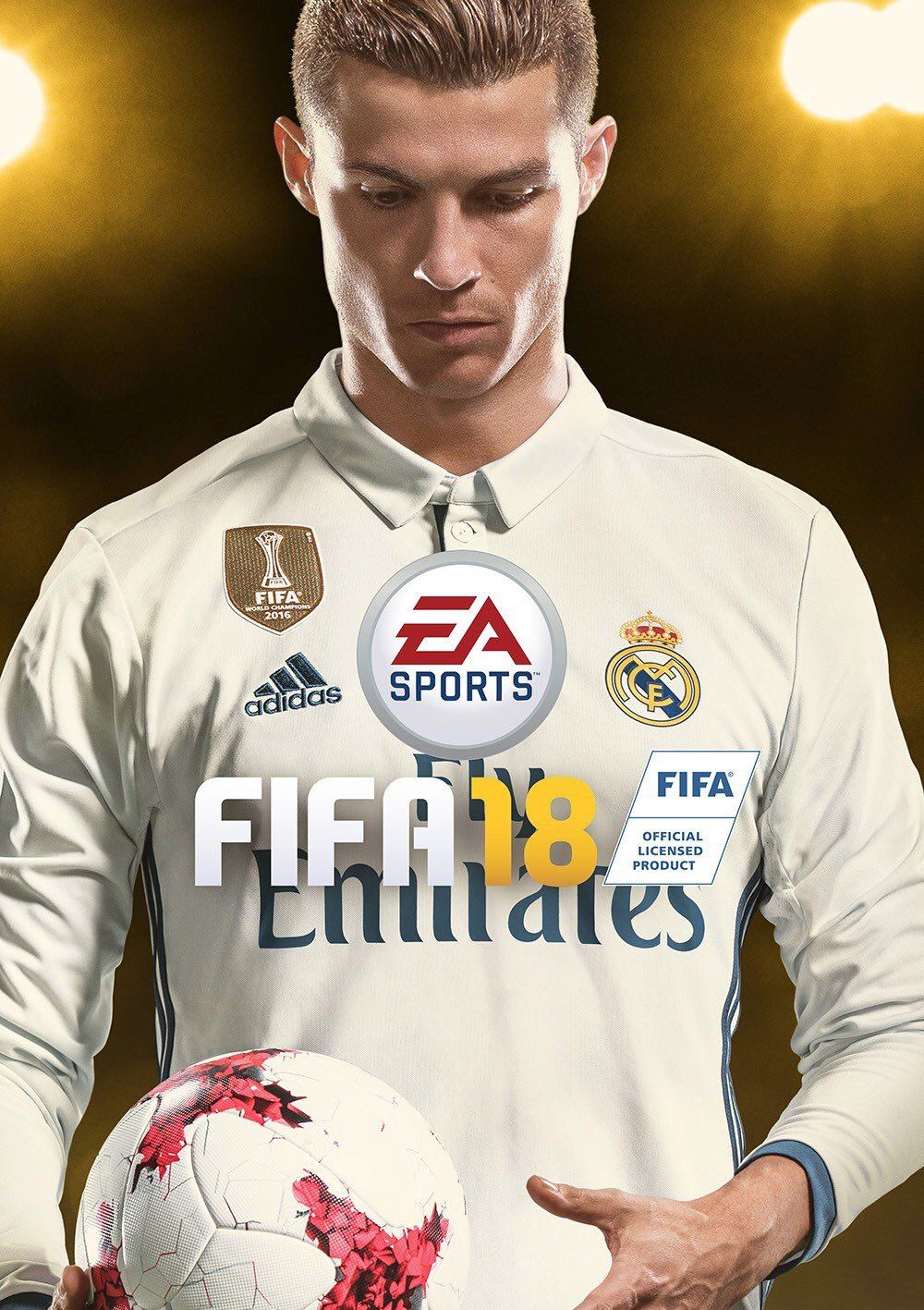 FIFA 2018 Cover Potrait