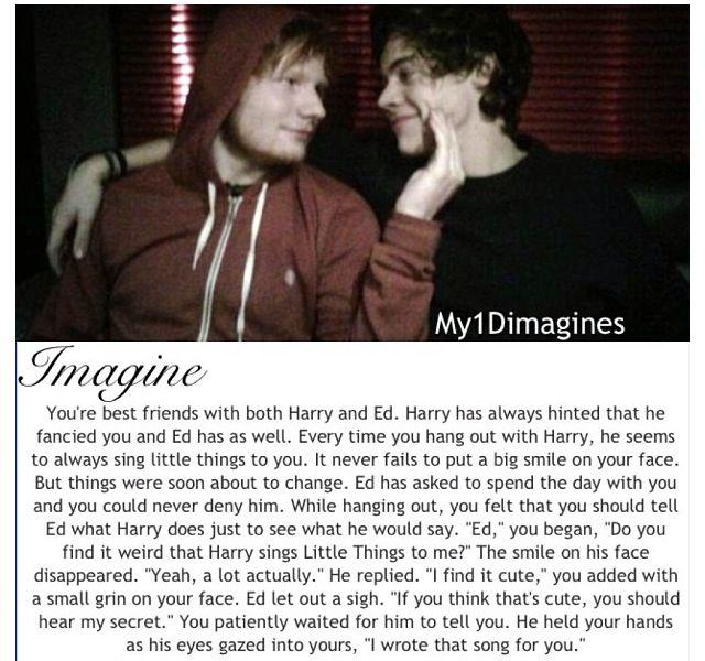Ed Sheeran imagine  I'm not a big fan of imagines but this