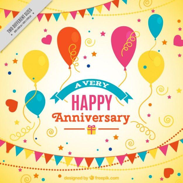 Download Happy Anniversary Yellow Background For Free Happy Anniversary Anniversary Happy