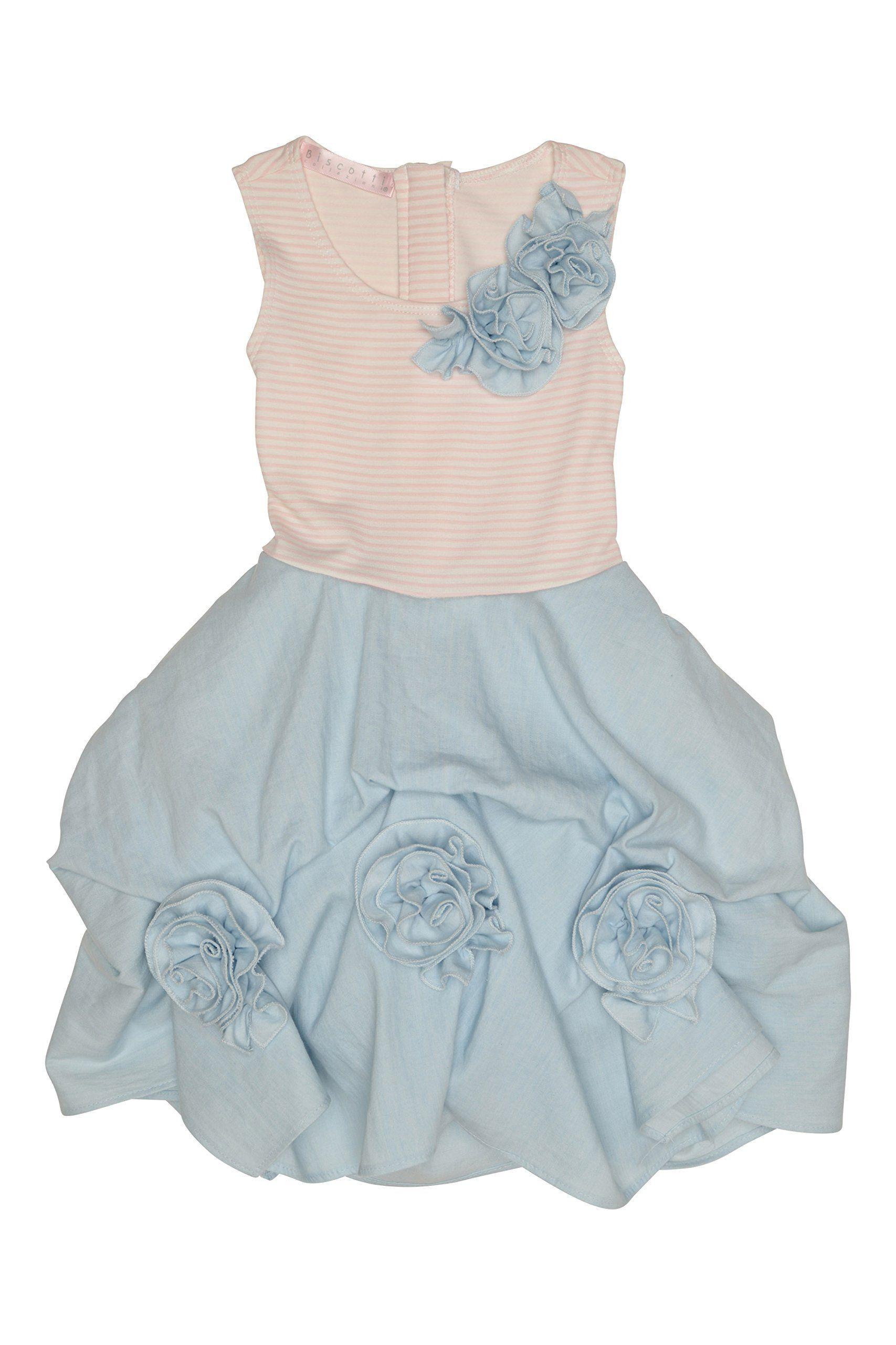 c37a984e47d Biscotti Girl s 7-16 Pretty Casual Dress