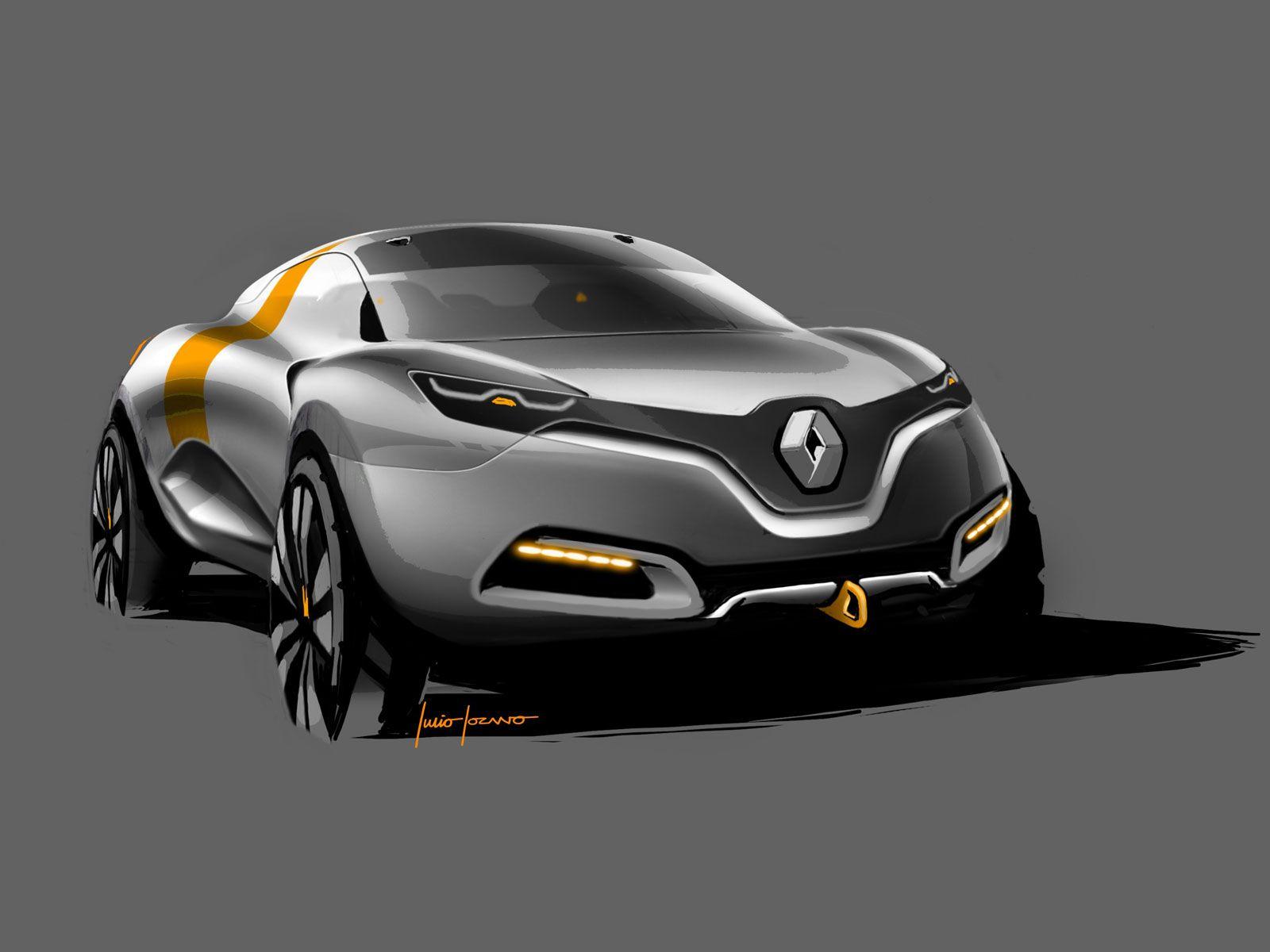 Renault Captur Concept Concept Car Design Truck Design