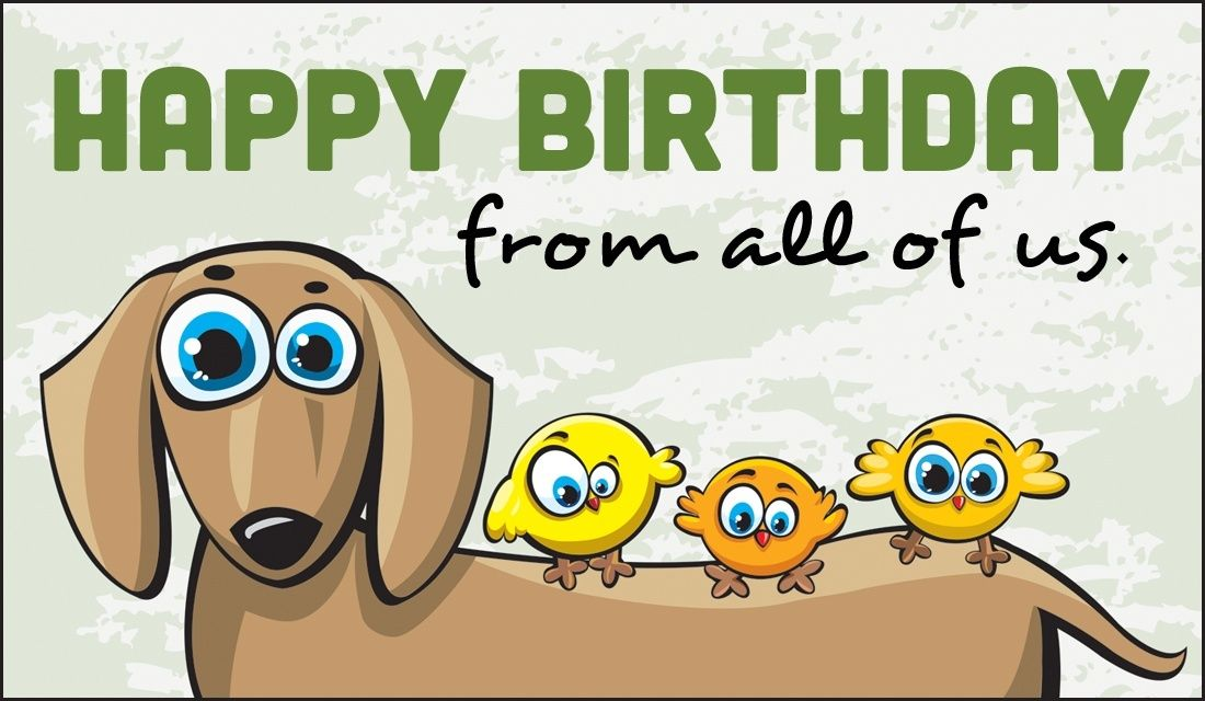 Happy birthday from all of us all occasion cards pinterest happy birthday from all of us ecards onlinecard bookmarktalkfo Choice Image