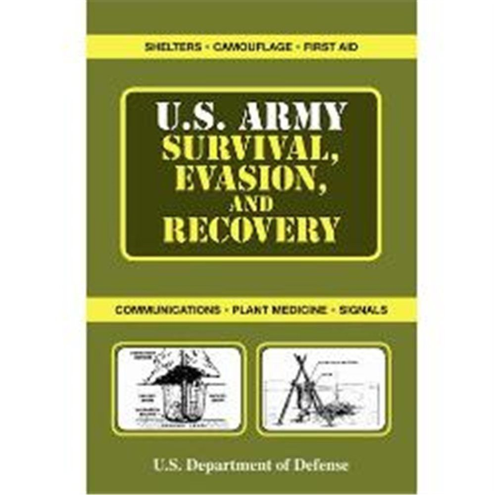 Military Pocket Survival Guide Plus Evasion /& Recovery U.S