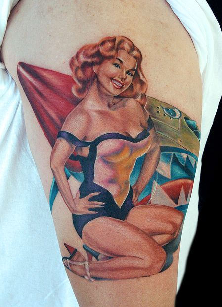 tat2istcecil • wwii pin up | pin-up tattoos | pinterest