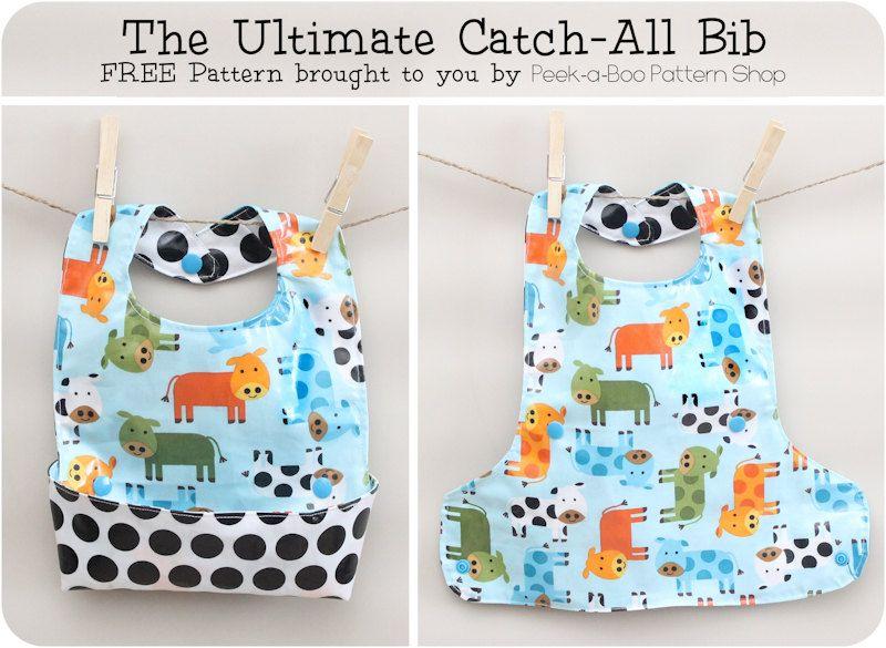 Ultimate Baby Bib Pattern: A Free Tutorial For the Best Bib   Bebe ...