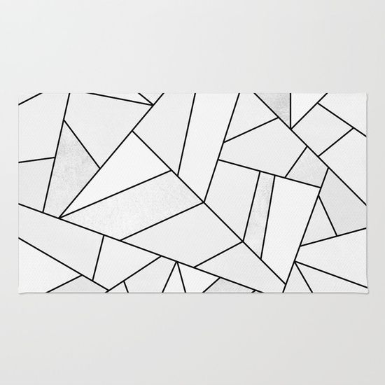 Graphic Abstract Lines White Black And White Geometric