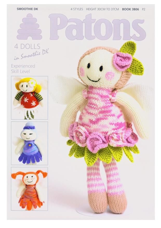 Patons 3806 4 dolls in Smoothie | Knitting | Pinterest