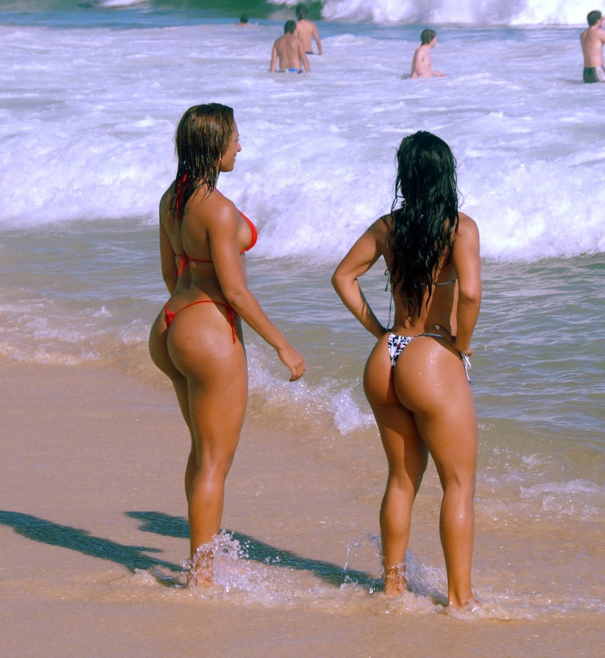 Teen beaches of brazil