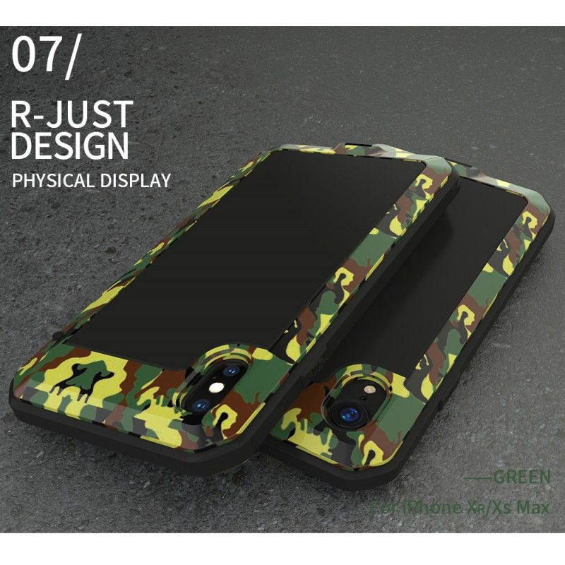coque iphone xr pare-chocs