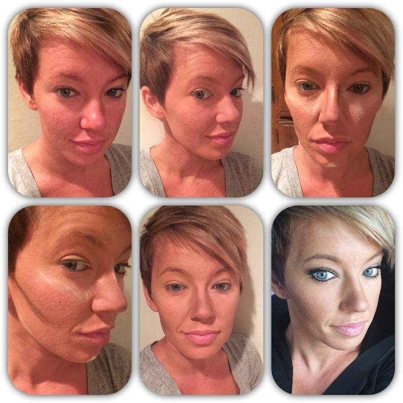 Easy Hilighting and contouring with products used Younique - Uplift. Empower. Validate.