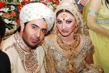 Sana Wedding Pice Celebrity Bride Celebrity Weddings Pakistani Actress