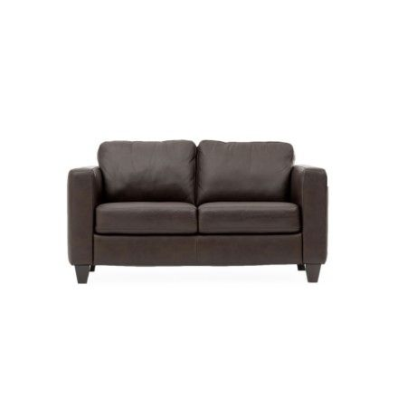 Leather Loveseat Pienza Love Seat Arm Chairs Living Room Leather Loveseat