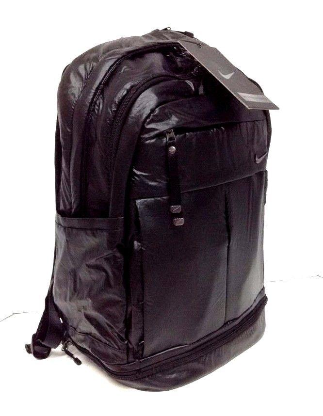 1c74ab6ae806e NIKE Victory Backpack Black Gym Bag Sports School Cheer Athletics Carryall  NWT…