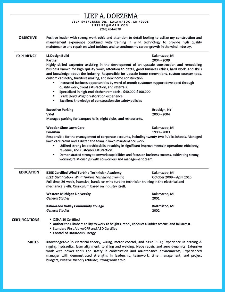 Carpenter Resume We Understand You're Interested To Work As A Carpenterbut You