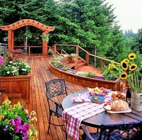 We\u0027ve already told you of some terraces, porches, ponds and