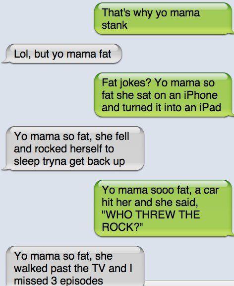 Fat Girl Jokes Dirty Yo mama so fat ...