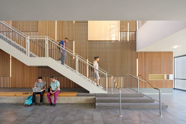 Classroom And Academic Office Building Stairs