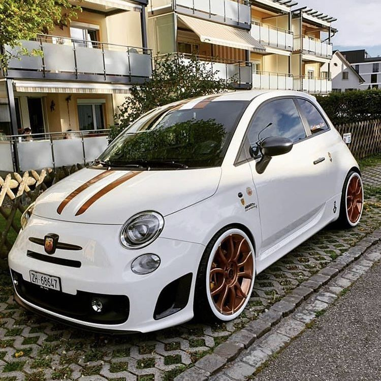 Some Clean Abarth With Images Fiat 500 Fiat