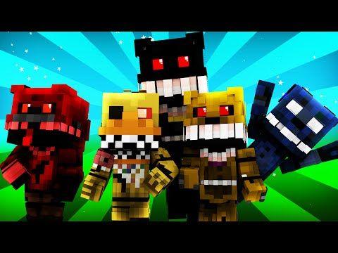 FNAF World - Night 4 (Minecraft Roleplay) - YouTube   Freddy fazbear
