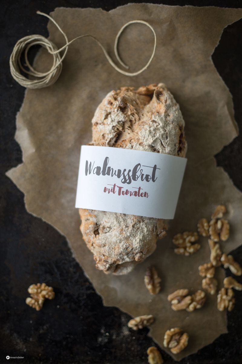 Photo of Walnut bread with dried tomatoes – creative fever