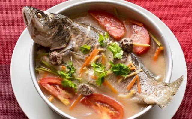 Resepi Ikan Siakap Stim Asam Boi - Resep Bunda Erita