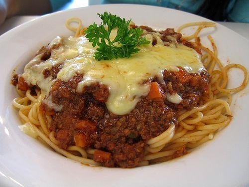 Food At Home Spaghetti Bolognese Hot Dog Recipes Spaghetti Bolognese Whole Food Recipes