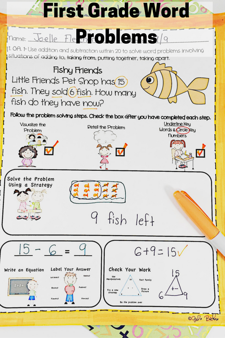 Worksheet First Grade Story Problems first grade word problems common core 1 oa 0a 2 story for standards a