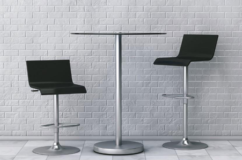 Phenomenal How To Clean Rust Off My Metal Bar Stool Base Metal Bar Machost Co Dining Chair Design Ideas Machostcouk