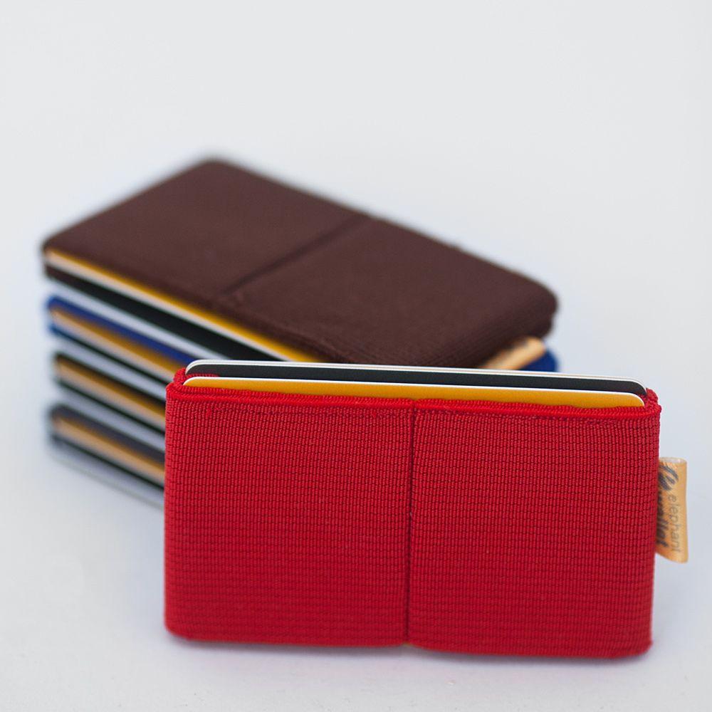 6c6c6fd2c08b6 Elephant Wallet - ultra slim minimalist elastic wallet