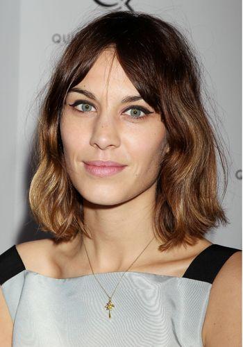 The Stylist Hair 100 Alexa Chung Hair Hair Styles Alexa Chung Haircut