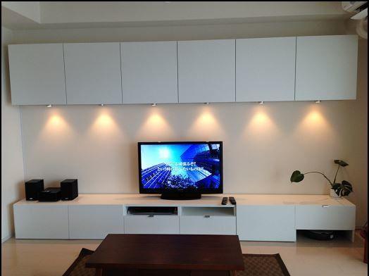 album 4 banc tv besta ikea r alisations clients s rie 1 s jour tv et meuble tv. Black Bedroom Furniture Sets. Home Design Ideas