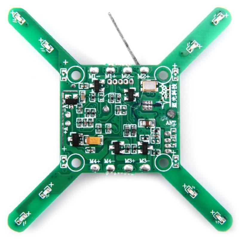 Spare PCB Receiver Circuit Board Fitting for JJRC JJ