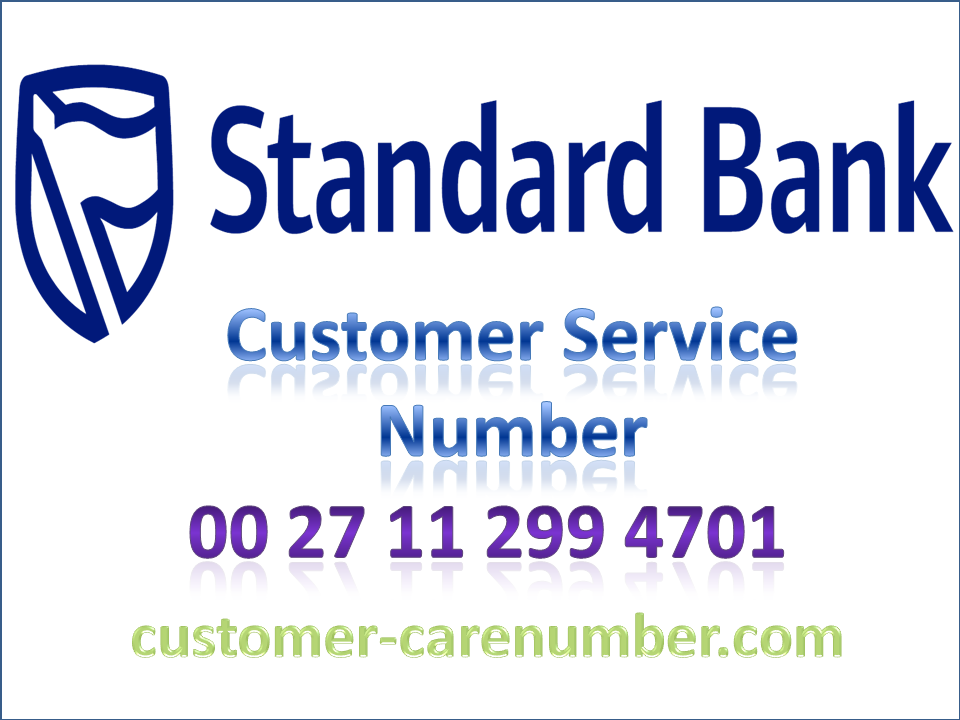 Standard Bank Customer Service Number With Images Customer