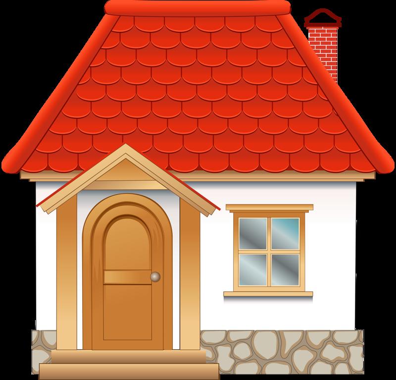 Картинки дома для детей рисованные