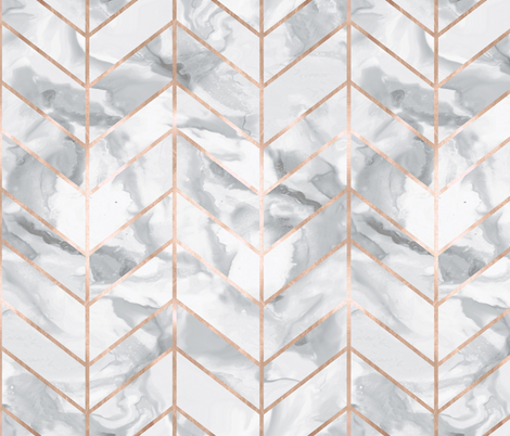 Carrera Marble Herringbone Rose Gold G Gold Wallpaper Rose Gold Wallpaper Marble Wallpaper