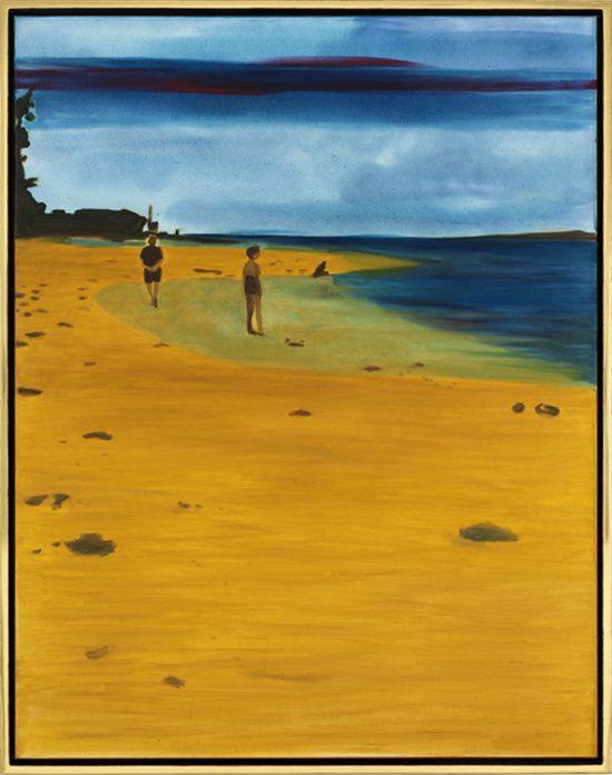 Strandspaziergang (Walk on the Beach),Caro Niederer