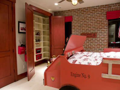 Fire Station Boys Bedroom | Bedrooms